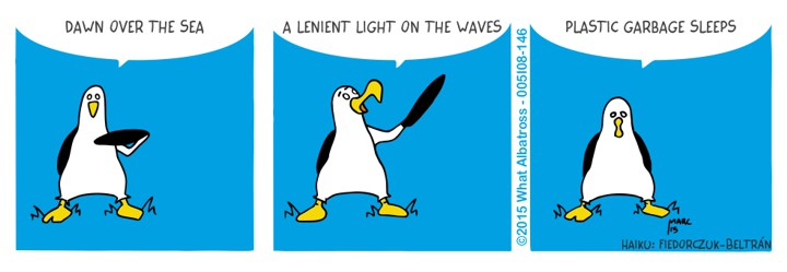 A Haiku from the Poet Albatross